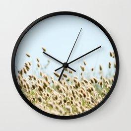 Summer beach land Wall Clock
