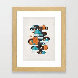 Abyss n°3 Framed Art Print