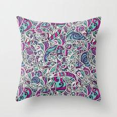 Tangle Pattern #001 Throw Pillow