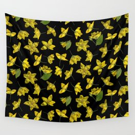 Yellow Loosestrife Wall Tapestry
