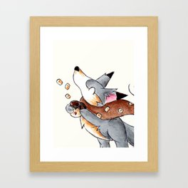 Marshmallows, Please! Framed Art Print
