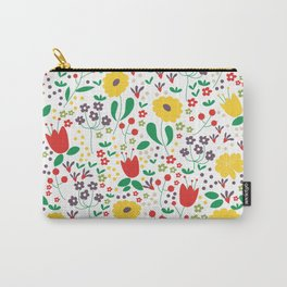 Spring Mornings Carry-All Pouch