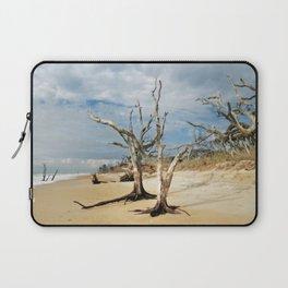 Hobcaw Boneyard Beach Morning Laptop Sleeve