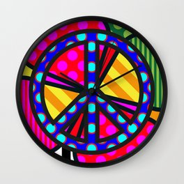 Lucky Peace SQuare Wall Clock