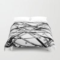 astronomy Duvet Covers featuring Astronomy Instrument by Maioriz Home