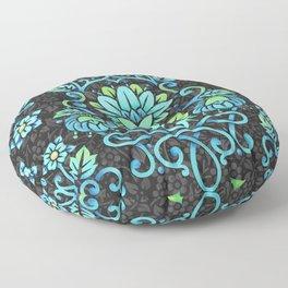 Nouveau Damask Floor Pillow