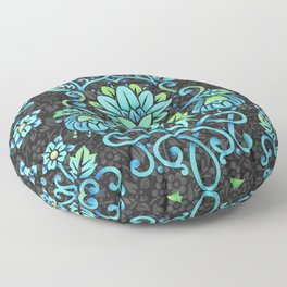 Nouveau Damask Floor Pillow