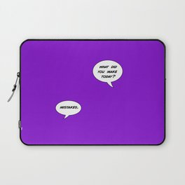 mistakes Laptop Sleeve