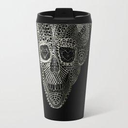 Lace Skull Travel Mug