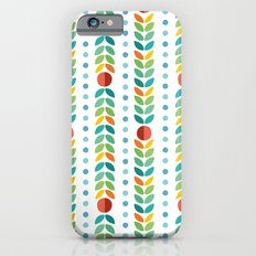 Simple flower Pattern iPhone 6s Slim Case