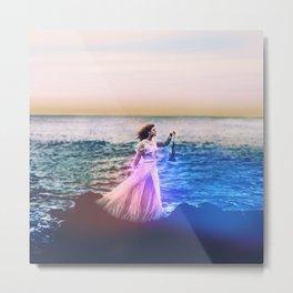 Her & the Sea Metal Print
