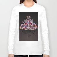 velvet underground Long Sleeve T-shirts featuring Underground by Sam Pierpoint