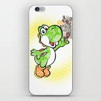 yoshi iPhone & iPod Skins featuring Yoshi Wonderland !  by Art & Be