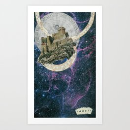 My Home at the End of the Universe Art Print