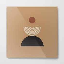 Nascita del sole - The birth of the sun - Modern abstract art Metal Print