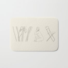 Incomodidad y placer Bath Mat