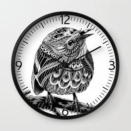 Prairie Warbler Wall Clock