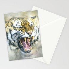 Snarling Tiger Stationery Cards