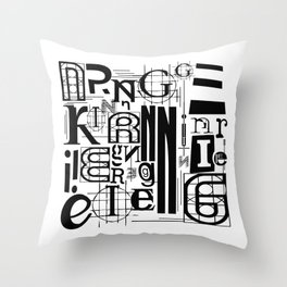 Engineering Throw Pillow