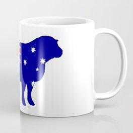 Australian Flag - Sheep Coffee Mug