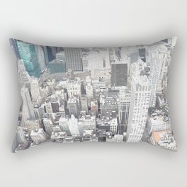 During the day in new york Rectangular Pillow