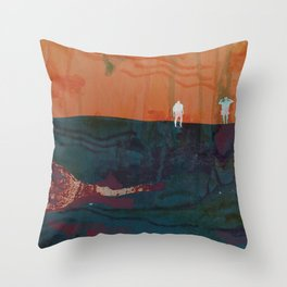 dune drifters Throw Pillow