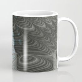 Charcoal Crust - Fractal Art Coffee Mug