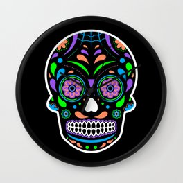 Calavera Wall Clock