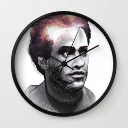 Huey Percy Newton (2/17/1942 – 8/22/1989) Wall Clock
