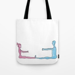 cannot reach you Tote Bag