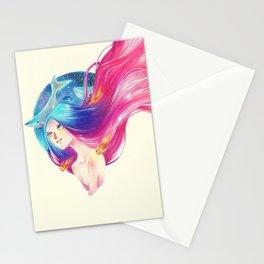 Goldfish Girl Stationery Cards