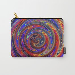 Swirly Twirly Colorful Lollipop Carry-All Pouch