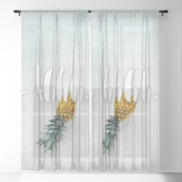 Tropical Bliss Sheer Curtain
