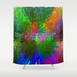 Spring Popping out of the city... Shower Curtain