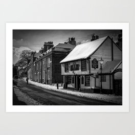 Coopers Arms, Rochester, Kent Art Print
