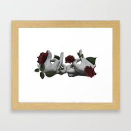 Blood Framed Art Print