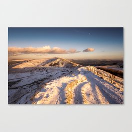 The Shivering Mountain II Canvas Print