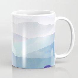 MOUNTAINS minimalist print Coffee Mug