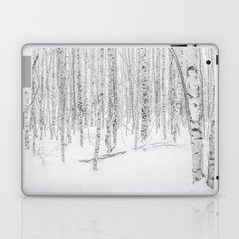 Swedish Birch Trees Laptop & iPad Skin