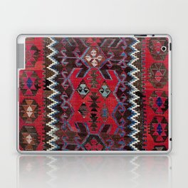 Obruk Konya Turkish  Antique Kilim Rug Laptop & iPad Skin