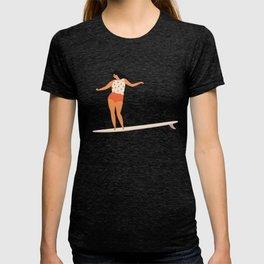 Surf girl T-shirt