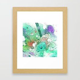 The Fifth Day Framed Art Print