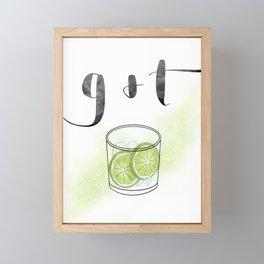 G & T Framed Mini Art Print