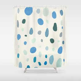 Rain Drops Shower Curtain