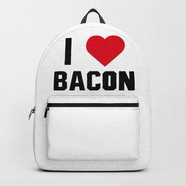 I Love Bacon Backpack