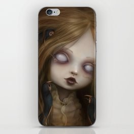 The face of all your fears iPhone Skin