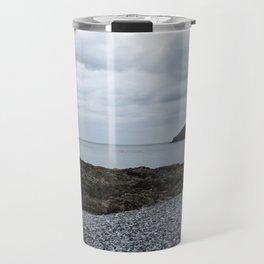 Trwyn Du Lighthouse And Puffin Island Travel Mug