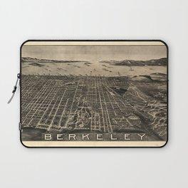Aerial View of Berkeley, California (1909) Laptop Sleeve