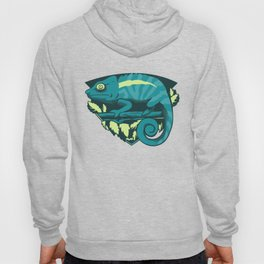Blue Chameleon Hoody