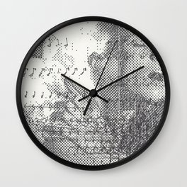 Musicgasm Wall Clock